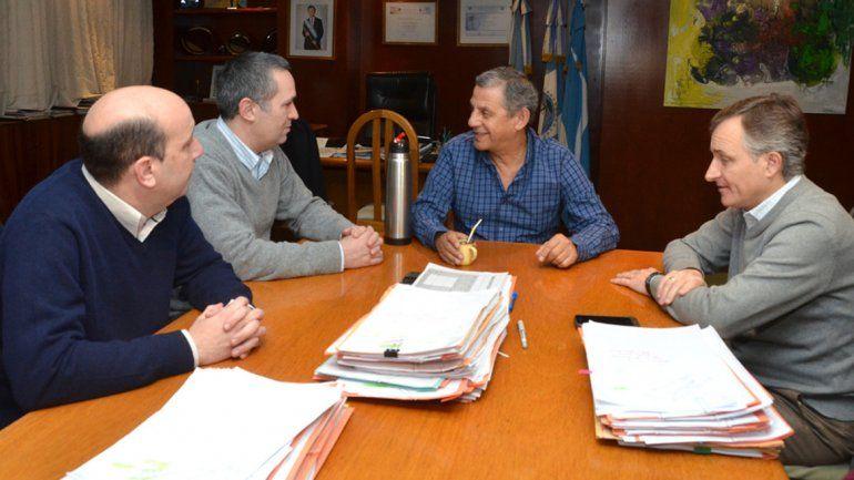 El intendente Pechi Quiroga