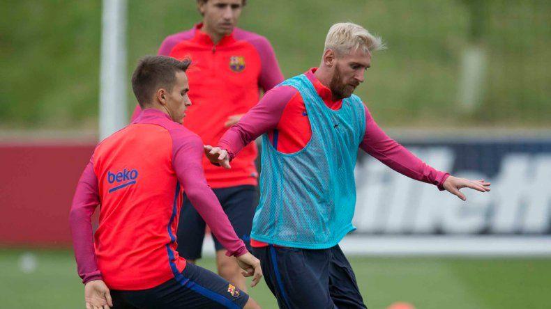 La Pulga jugará su segundo amistoso con el Barcelona.