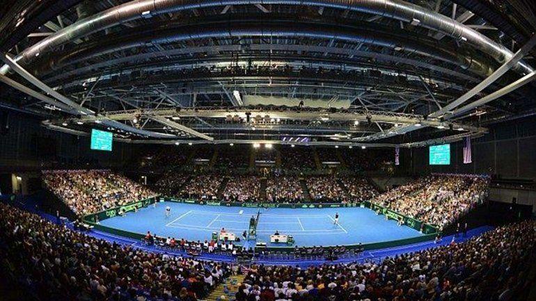 Las semis de la Davis se juegan en un estadio indoor en Glasgow