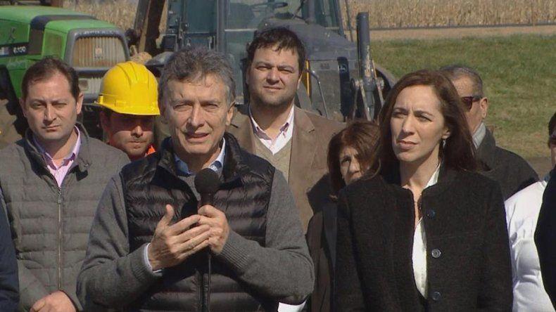 Macri: Con este solcito hay que apagar la calefacción