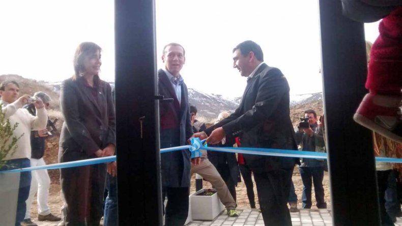Gutiérrez inauguró la nueva hostería de Las Ovejas