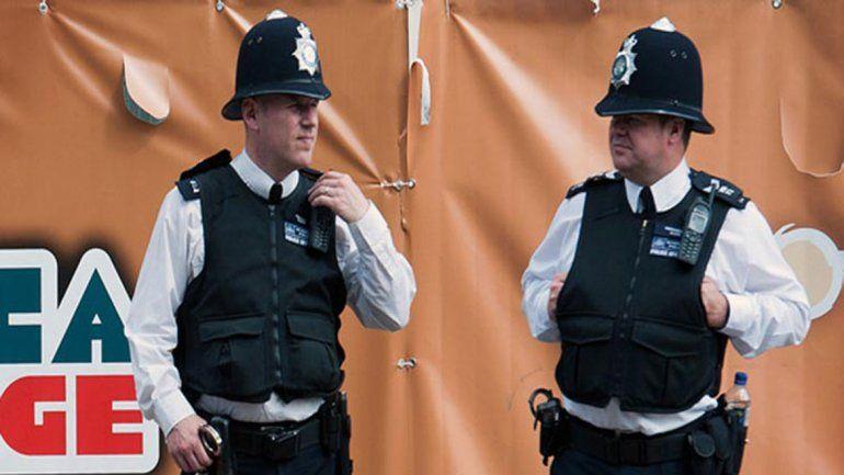 Los policías metropolitanos están entrenados para dialogar.