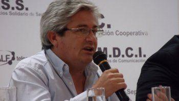 Rubén Domínguez, delegado de Calf.