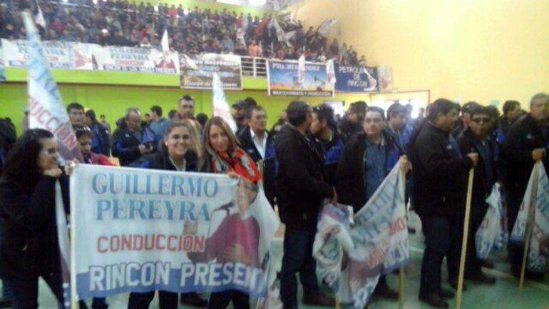 Pereyra no se va: otra vez encabeza la lista del sindicato petrolero
