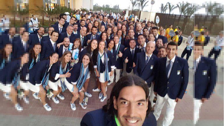 Los argentinos ya disfrutan de la gran fiesta de inauguración de los Juegos Olímpicos