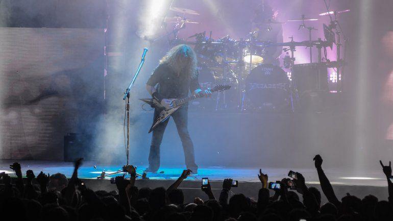 Megadeth dio anoche su segundo show