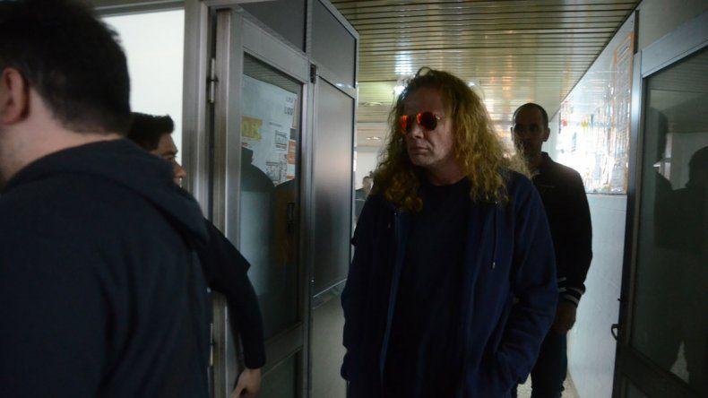 El fan herido fue visitado por toda la banda en el hospital Regional donde permanece internado. Dave Mustaine
