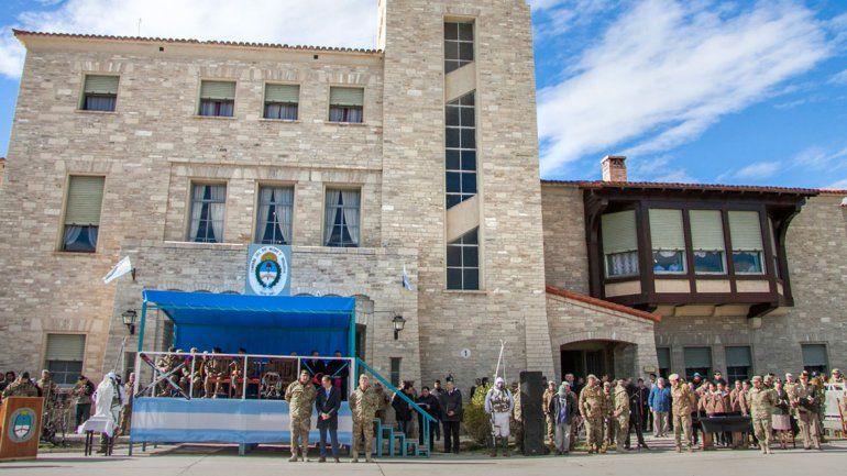 Más de mil soldados se reunieron en el Regimiento de Infantería de Montaña.