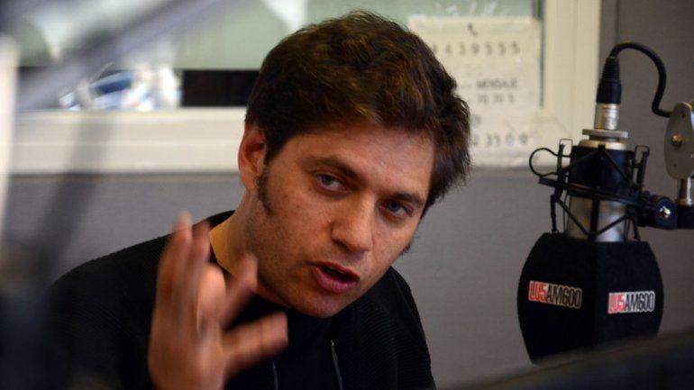 Kicillof: El Gobierno tiene que defender a la provincia