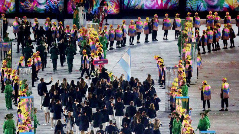 Inolvidable. Luis Scola lideró el desfile y la ilusión argentina.
