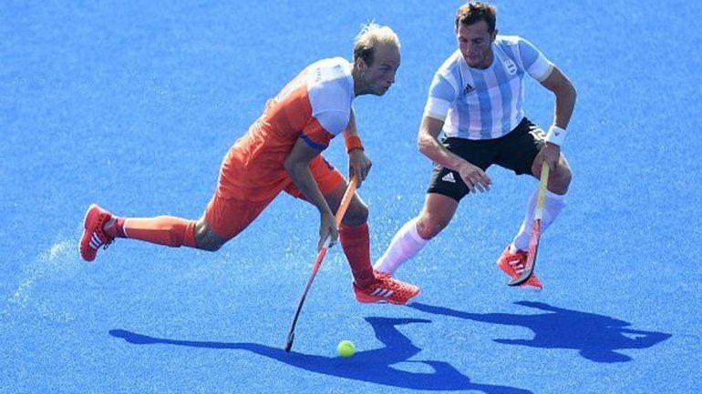 Heroico empate del hockey frente a Holanda en el debut
