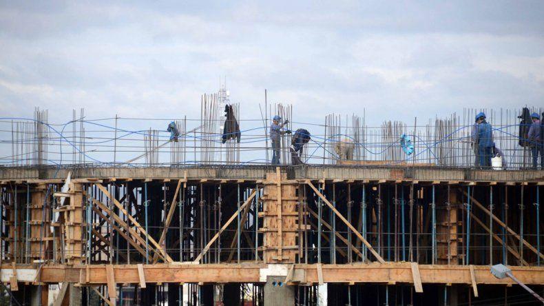 La merma de la actividad se siente tanto en edificios como en viviendas particulares.