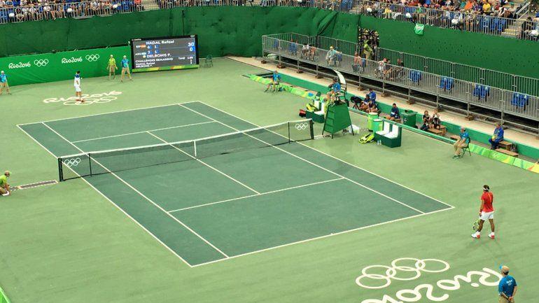 Delbonis no pudo con Nadal y quedó eliminado de Río 2016