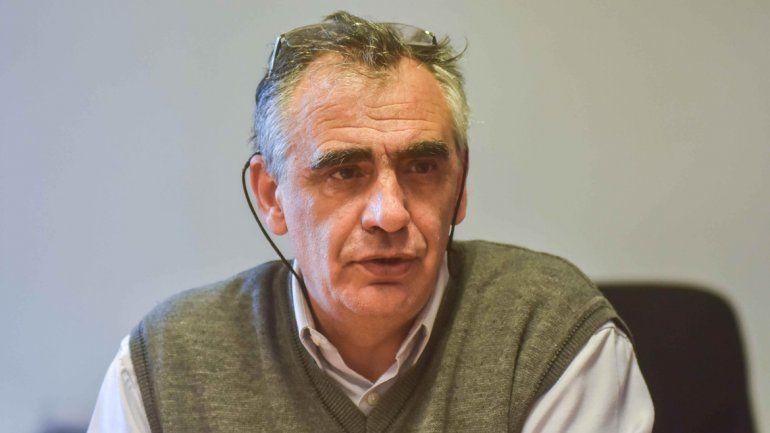 Gustavo Crisafulli. Rector de la UNCo.