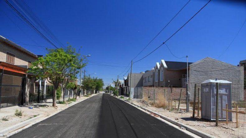 Las calles pavimentadas son una de las obras públicas más demandadas por los vecinos de la ciudad.