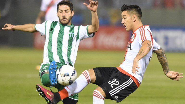 Sobre el final, River le ganó 2 a 1 a Estudiantes de San Luis