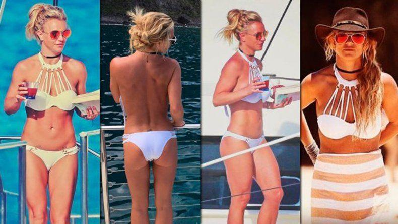 Britney Spears deslumbró con su figura en bikini