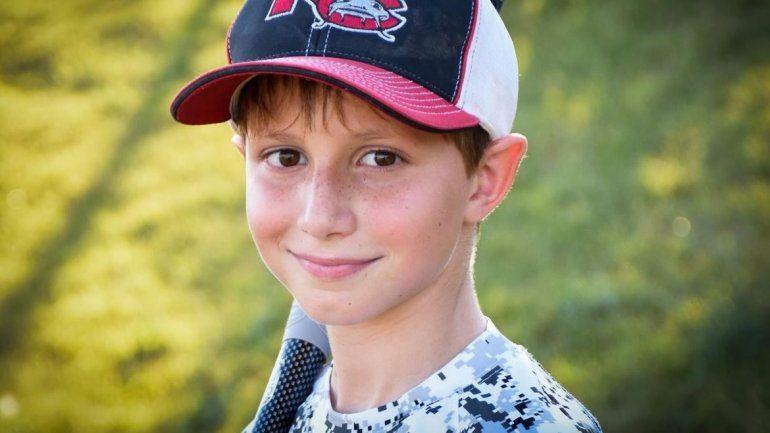El pequeño se llamaba Caleb Thomas Schwab. Su papá