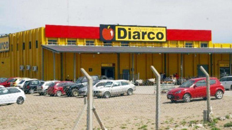 El mayorista Diarco está sobre el acceso Fortabat