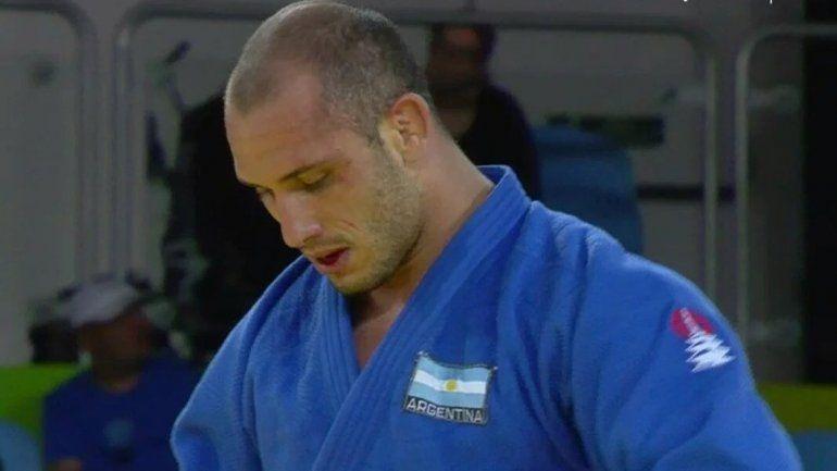 Lucenti perdió y quedó eliminado en judo