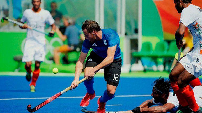 Los indios frenaron al seleccionado de hockey