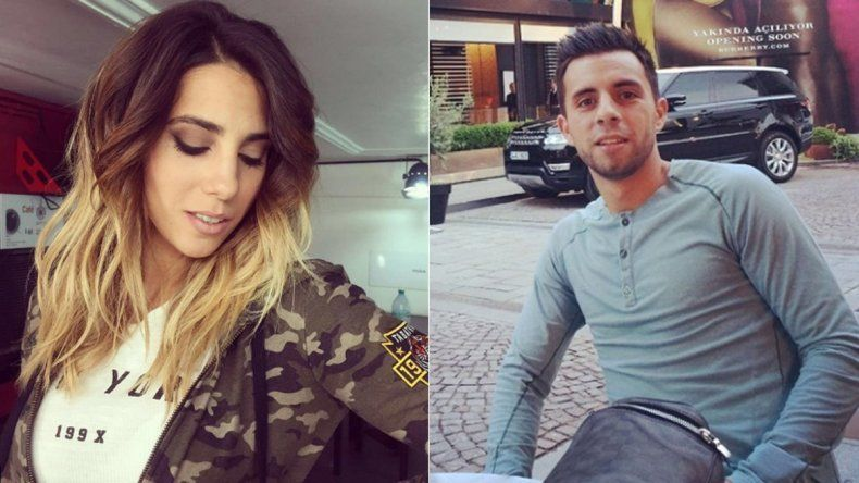 Un mensaje complica a la pareja de Cinthia Fernández y Defederico
