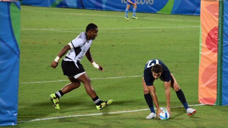 Rugby 7: Los Pumas cayeron 21 a 14 ante Fiji