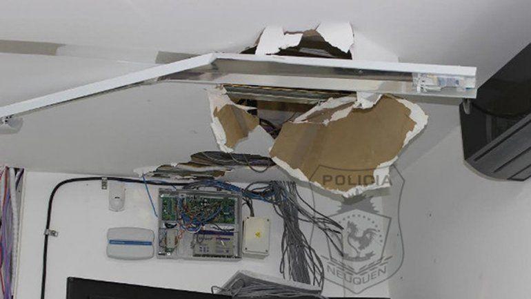 La empresa Diarco fue blanco de un fallido ataque de boqueteros.
