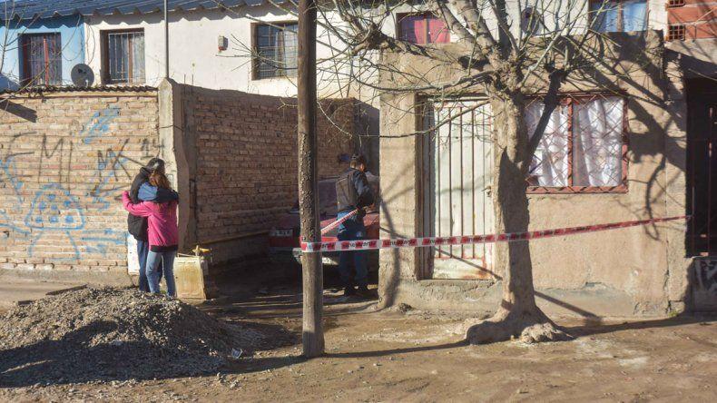 El dúplex de San Lorenzo donde fue acribillada Karen de cinco balazos.