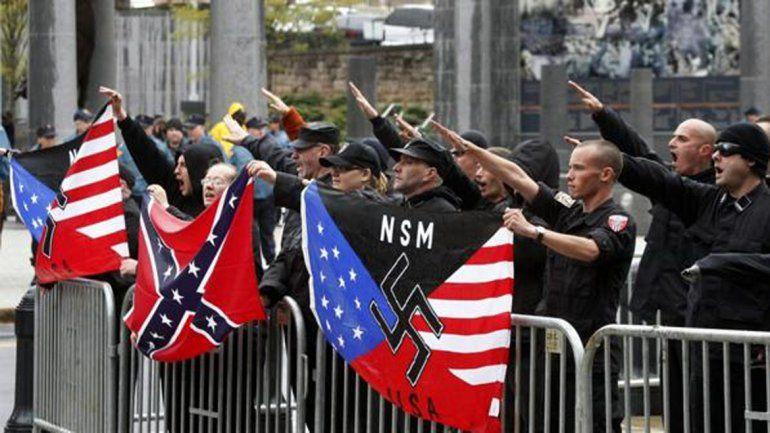 Sectores nazis apoyan la candidatura de Donald Trump