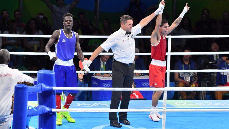 Impacto Melián pasó de ronda en el boxeo olímpico