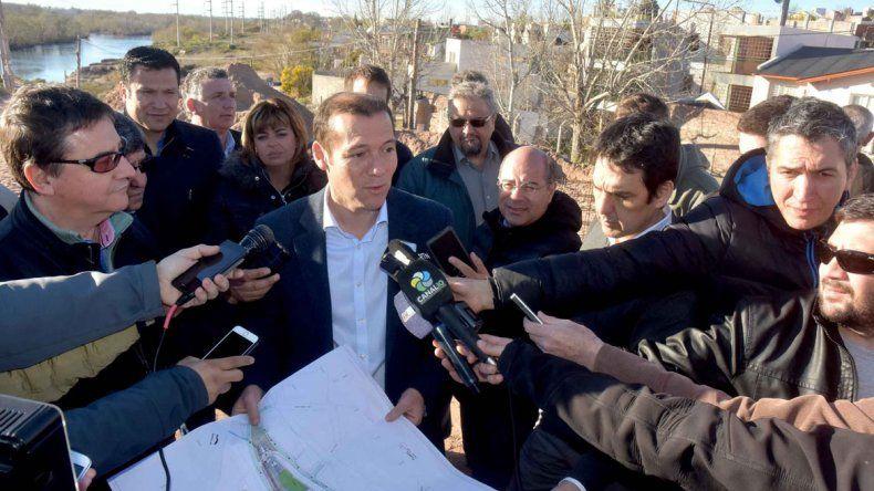 El gobernador Gutiérrez está esperanzado con lograr el acuerdo por Chihuido.
