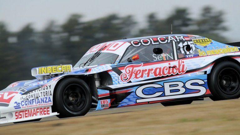 Camilo Echevarría saldrá a clasificar desde las 12:30 en el circuito de Rafaela.