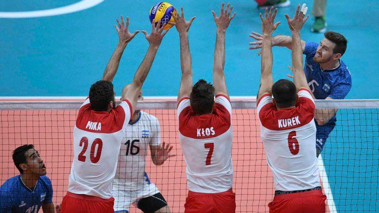 La Selección no pudo con Polonia