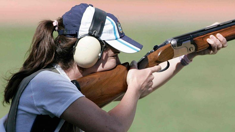 Melisa Gil no pudo entrar en la final de tiro
