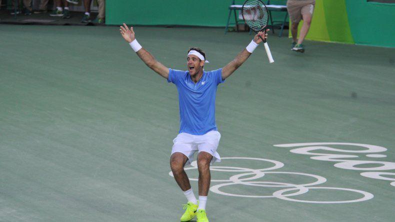 Gigante Delpo: derrotó a Nadal y se aseguró una nueva medalla olímpica
