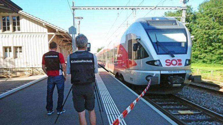 Entre los pasajeros heridos