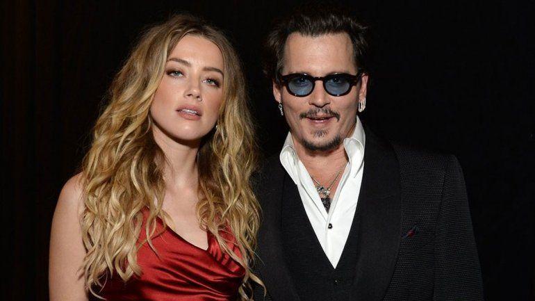 El matrimonio entre Johnny Depp y Amber Heard duró 15 meses.