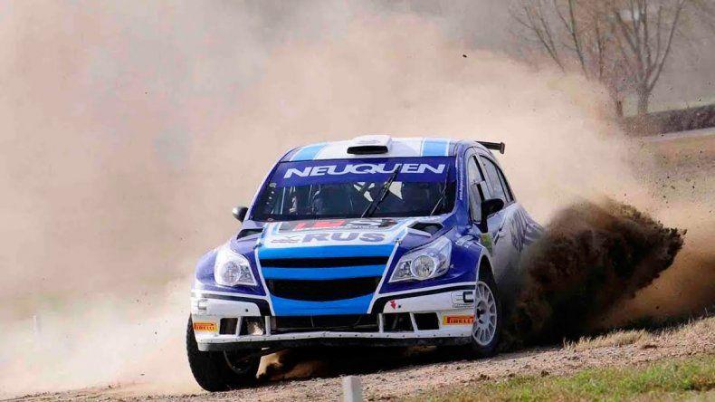 Alejandro Cancio sólo le ganó uno de los seis tramos al líder.