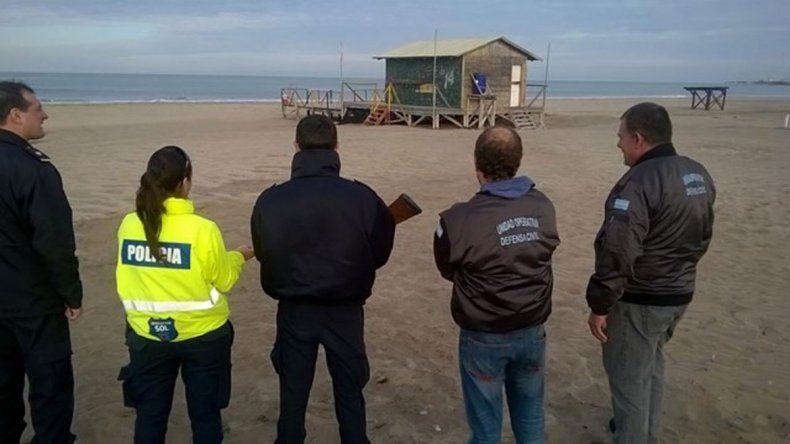 Todavía no se sabe cómo llegó un puma hasta la playa de Mogotes.