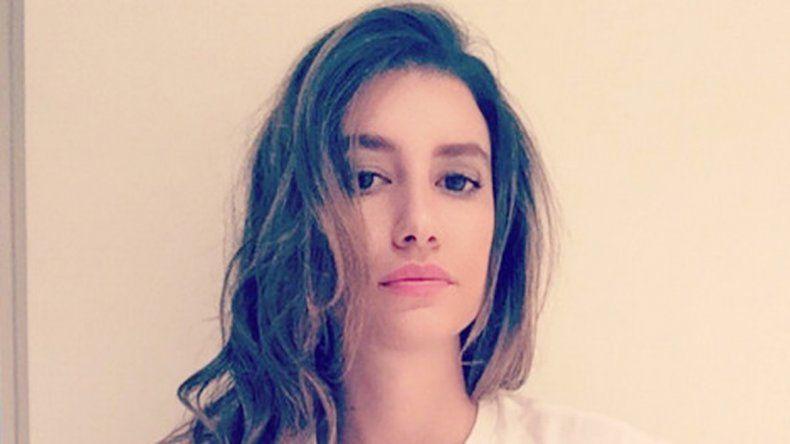 La joven pasó el invierno argentino en las cálidas playas de Ibiza.