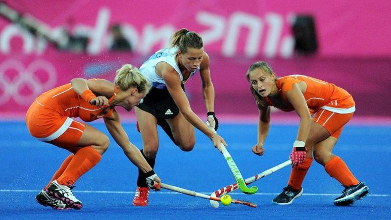Las Leonas enfrentaron a Holanda en la final de Londres 2012.