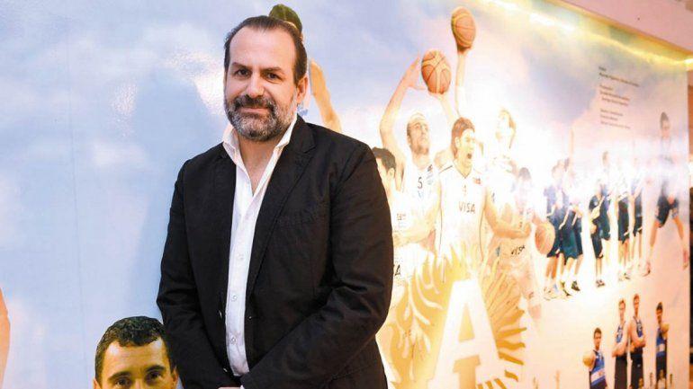 Federico Susbielles.Presidente de la Confederación Argentina de Baloncesto