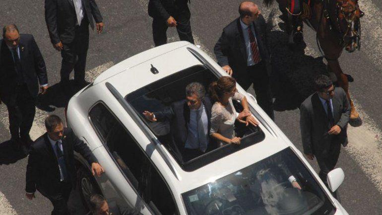 Macri circulará en una camioneta blindada