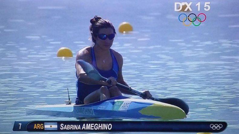 Canotaje: Ameghino se quedó afuera de la final