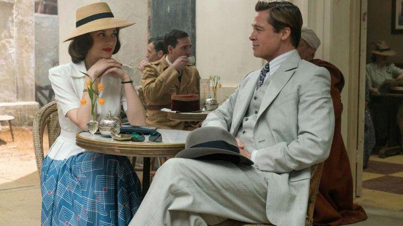 Brad Pitt y Marion Cotillard forman la nueva dupla de Robert Zemeckis