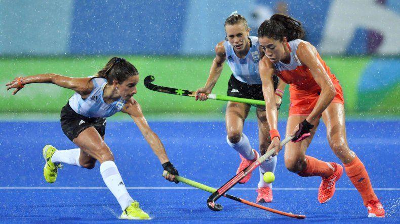 Las Leonas cayeron contra Holanda y quedaron afuera de Río