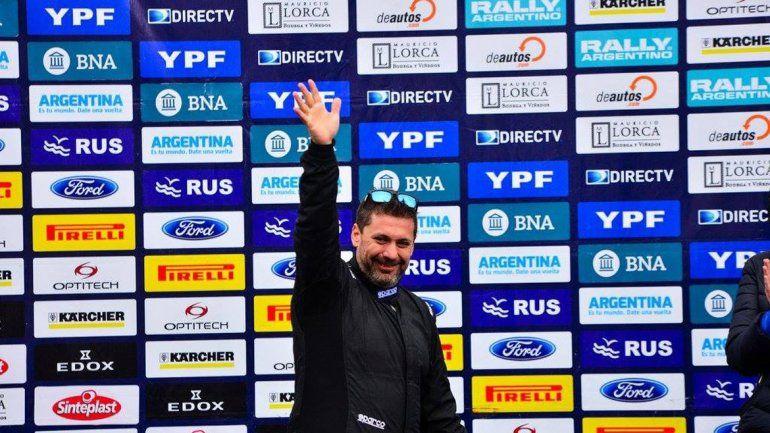 El piloto de Plaza Huincul fue tercero en la sexta fecha del Argentino.