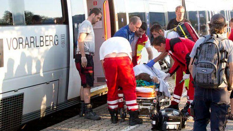 Tres heridos en un nuevo ataque con cuchillo en un tren europeo