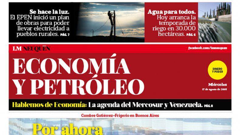 Suplemento Economía y Petróleo.